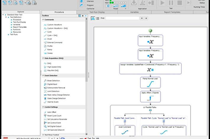screenshot of computer software