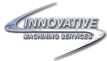 innovative machining services brand logo in gray